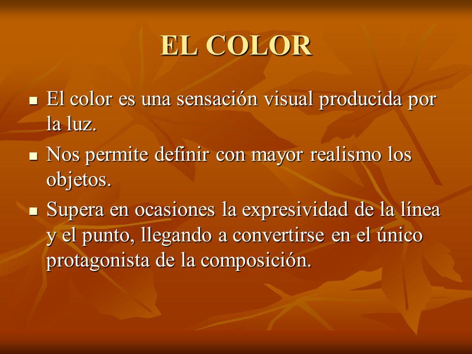 ¿Qué es EL COLOR? Una sensación visual producida por la luz
