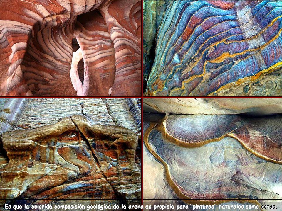 Los colores en las piedras son naturales.