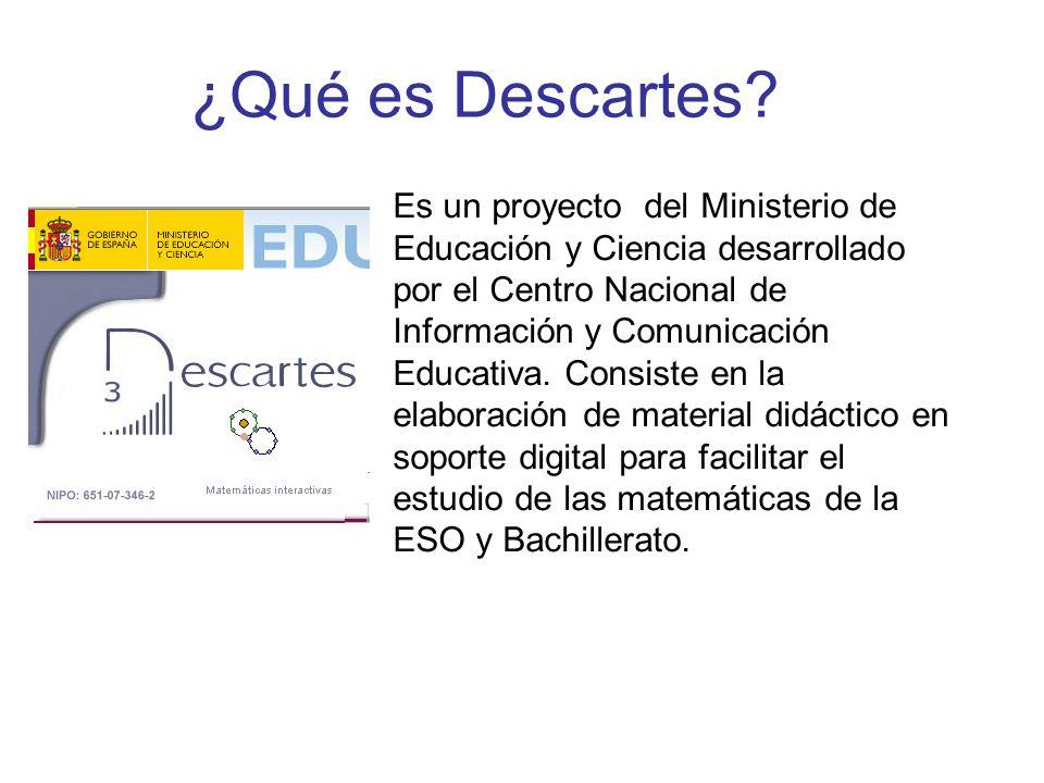 ¿Qué es Descartes.