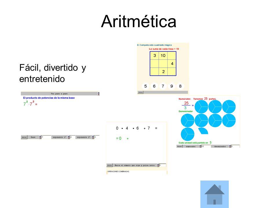 Aritmética Fácil, divertido y entretenido