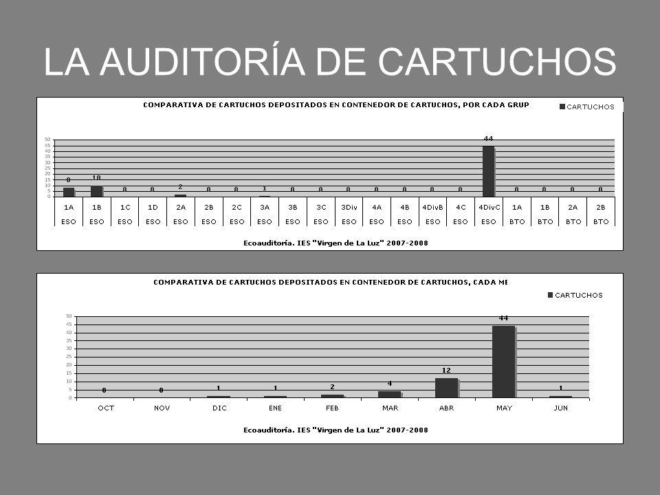 LA AUDITORÍA DE CARTUCHOS
