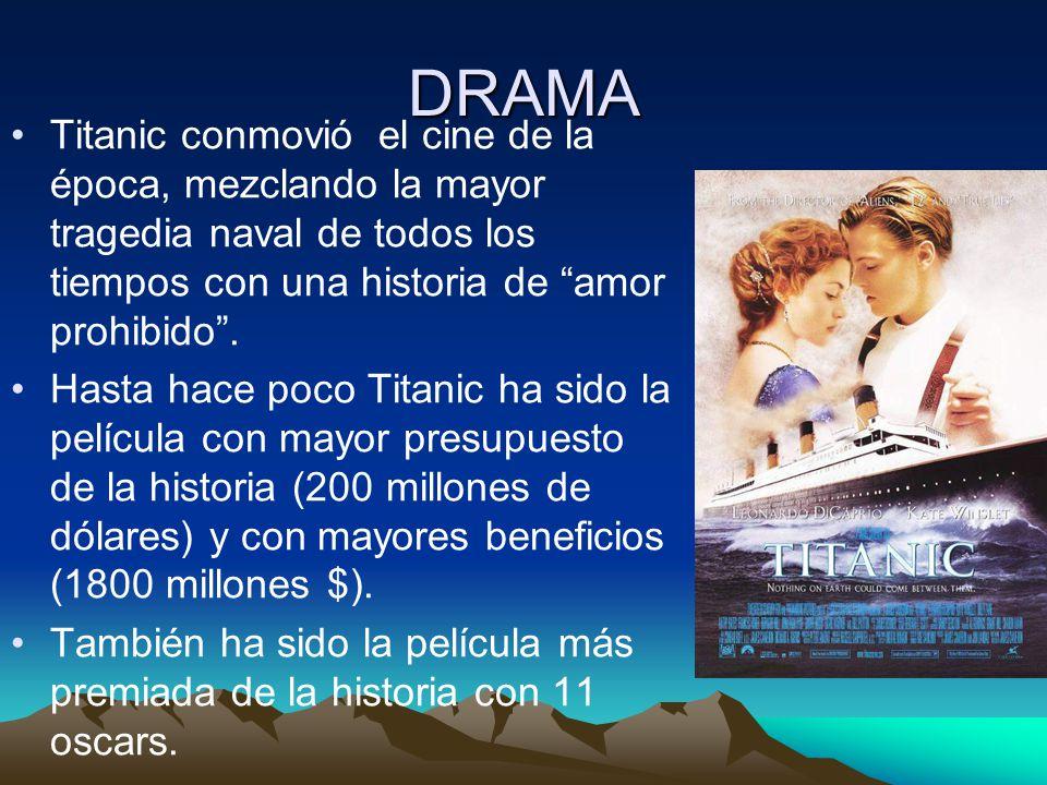DRAMA Titanic conmovió el cine de la época, mezclando la mayor tragedia naval de todos los tiempos con una historia de amor prohibido. Hasta hace poco