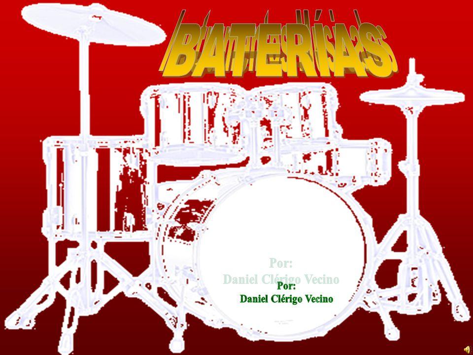 BIBLIOGRAFÍA http://es.wikipedia.org/wiki/Bater%C3%ADa_(instrumento_musical) http://www.guitarraonline.com.ar/bateria_historia.htm http://es.wikipedia.org/wiki/Bombo http://es.wikipedia.org/wiki/Redoblante http://es.wikipedia.org/wiki/Pop_rock Trabajo realizado por Daniel Clérigo Vecino 2º Bach C.