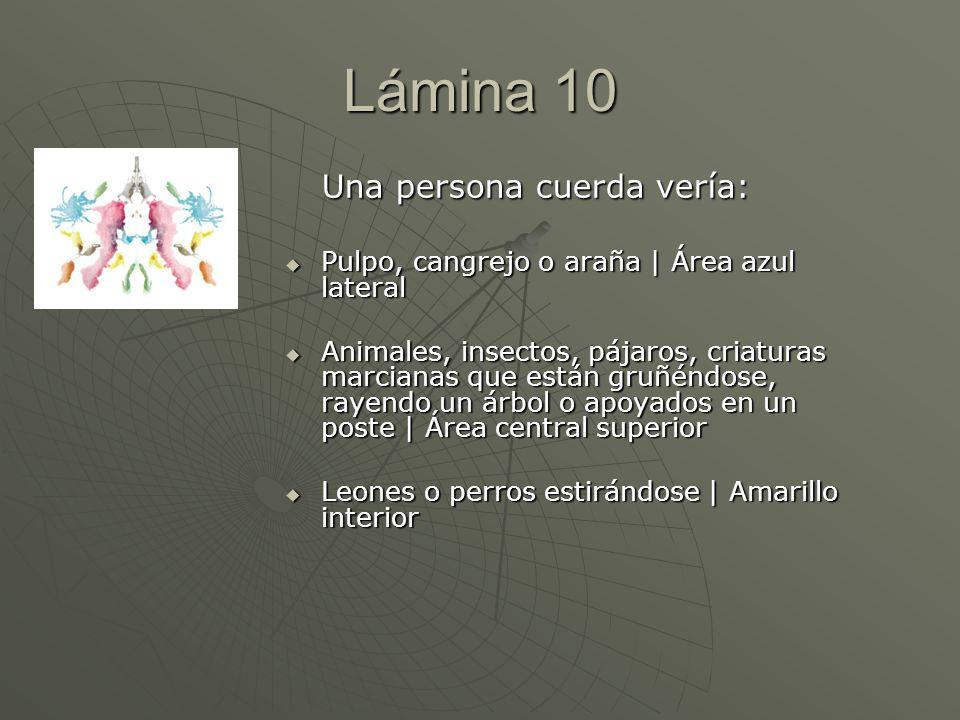 Una persona cuerda vería: Pulpo, cangrejo o araña | Área azul lateral Pulpo, cangrejo o araña | Área azul lateral Animales, insectos, pájaros, criatur