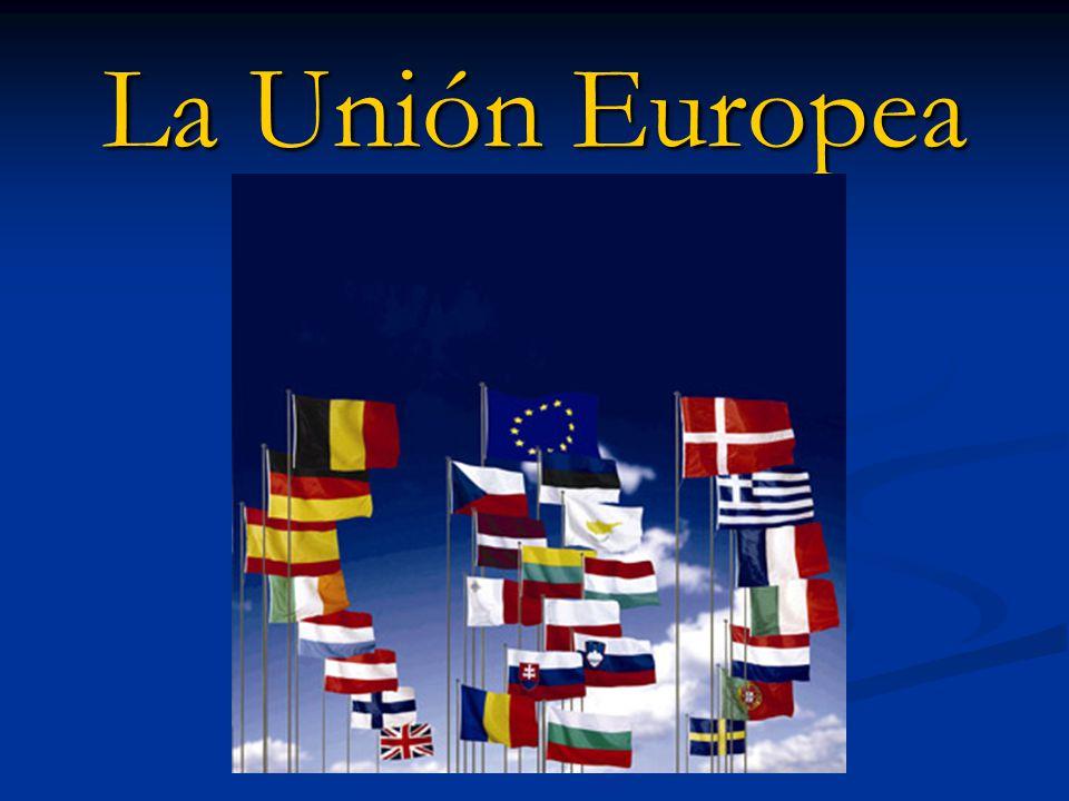 ¿Qué es la UE.