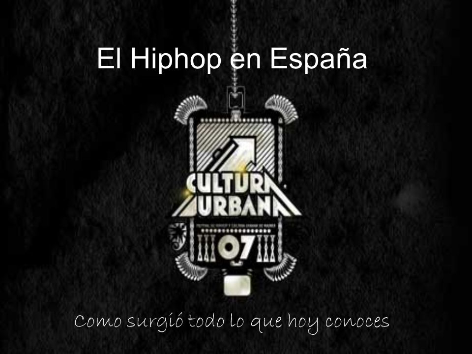 El Hiphop en España Como surgió todo lo que hoy conoces