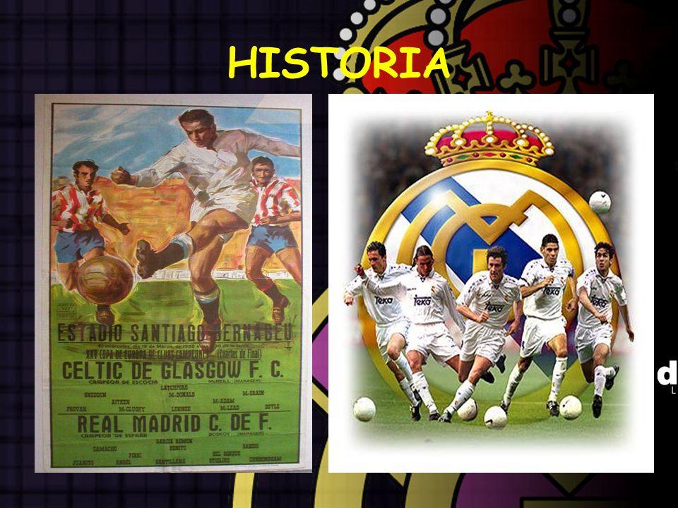 EL REAL MADRID El Real Madrid Club de Fútbol es un club deportivo de la ciudad de Madrid, España.