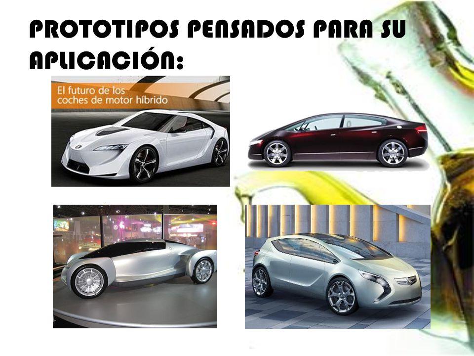 PROTOTIPOS PENSADOS PARA SU APLICACIÓN: