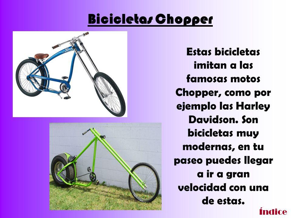 Aquí podéis haceros a la idea del tamaño de una Chopper, la posición que adopta uno sentado en ella, etc.