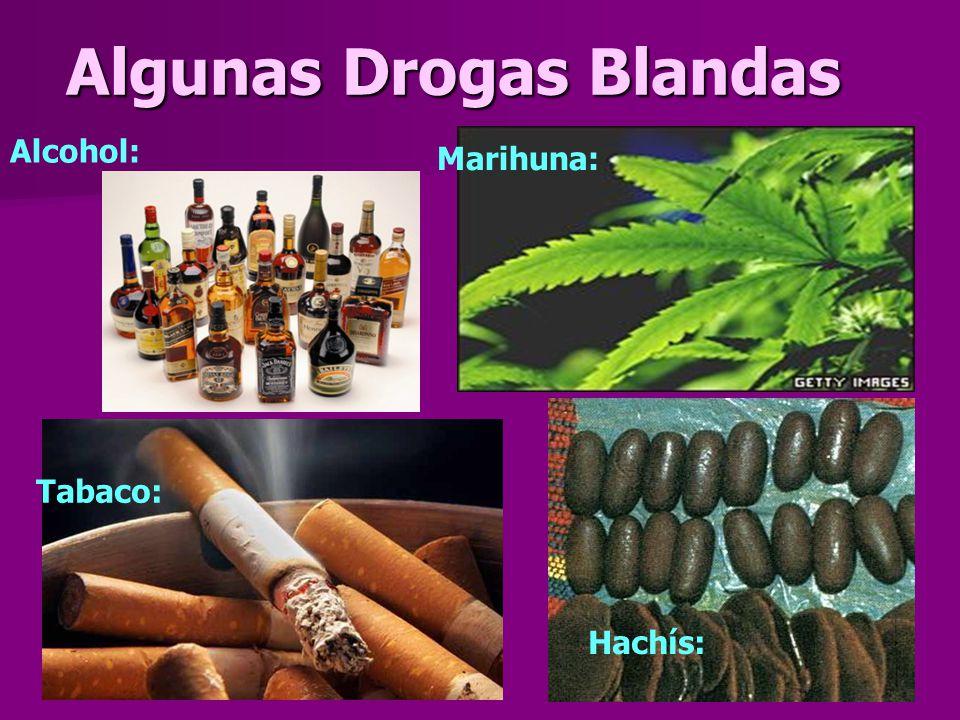 Algunas Drogas Duras Cocaina: Ketamina: MDMA: Anfetaminas: