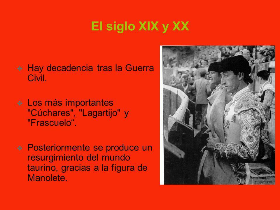 El siglo XVIII y el toreo Desde tiempos inmemoriales, recorrían España los llamados «matatoros» divirtiendo al público mediante la práctica del toreo