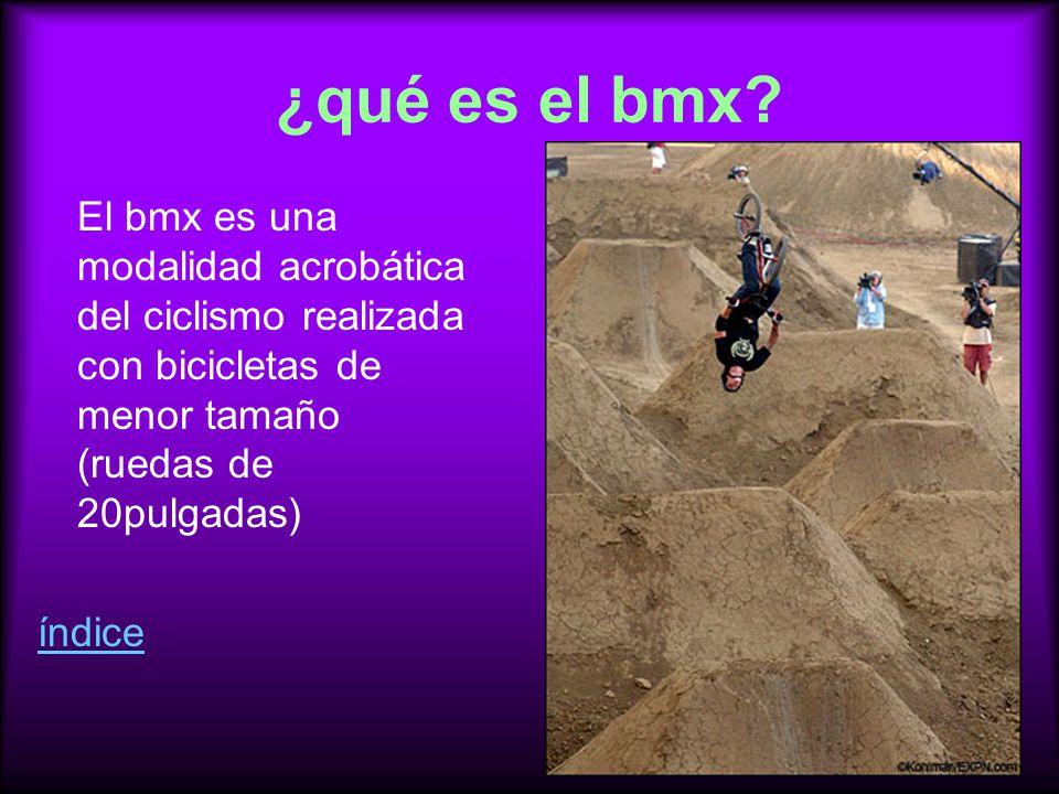 ¿qué es el bmx.