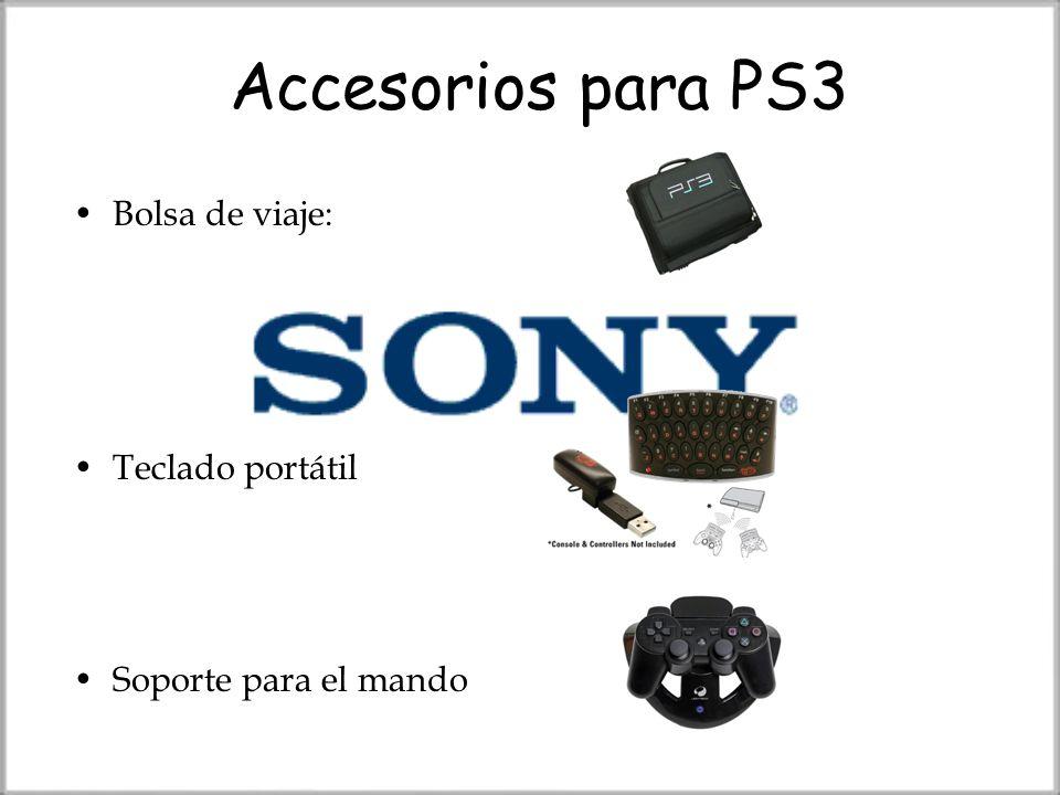 Accesorios para PS3 Bolsa de viaje: Teclado portátil Soporte para el mando