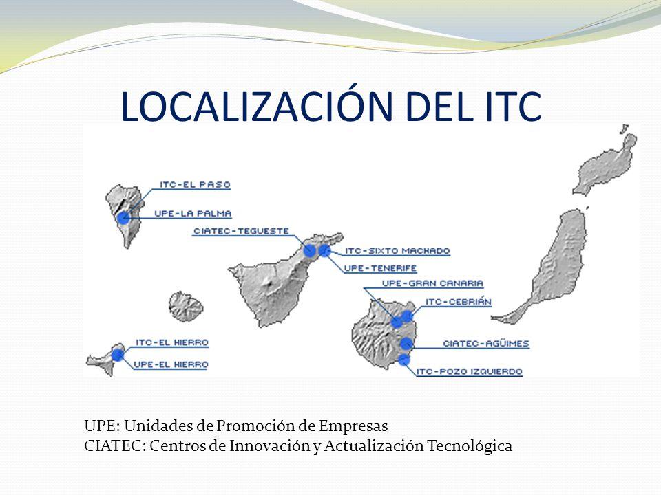 El Instituto Tecnológico de Canarias desarrolla su actividad desde sus sedes principales, ubicadas en las dos islas capitalinas.