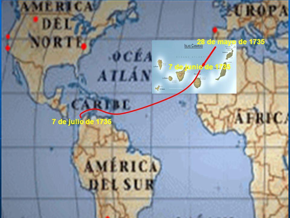 El regreso: aventura inglesa En 1745 se dieron por concluidos los trabajos.