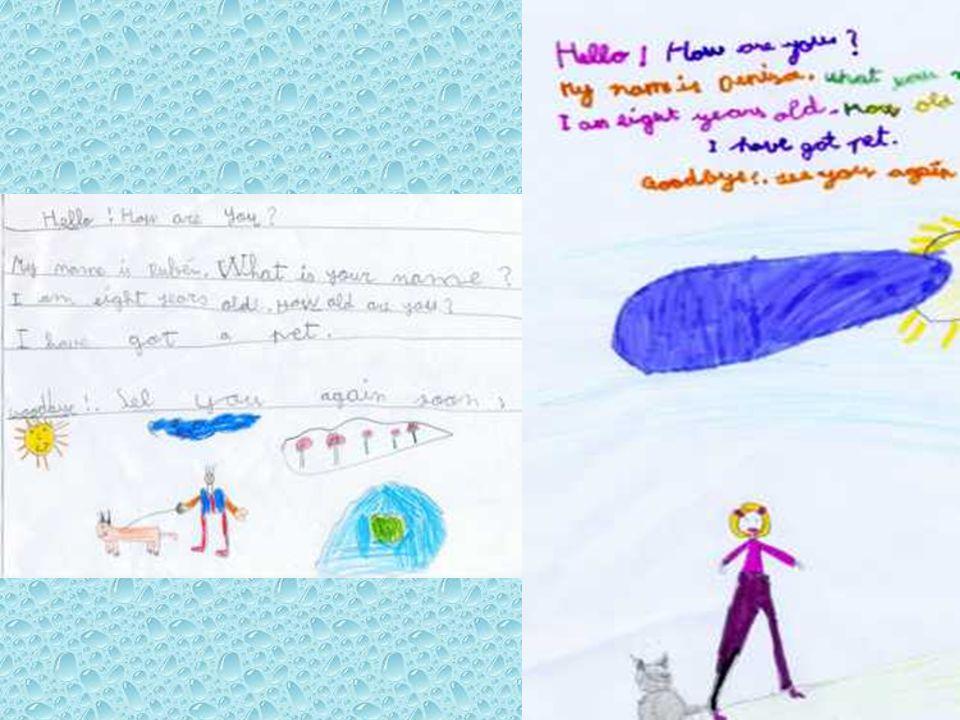 Soy RUBEN tengo ocho años, tengo el pelo castaño claro y ojos verdes. Soy Denisa y soy de Rumanía.