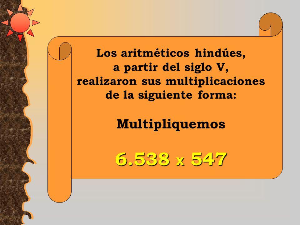 MultiplicaciónHindú