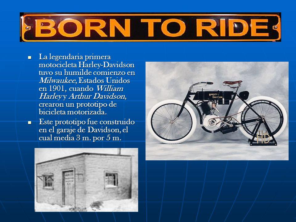 HARLEY DAVIDSON MUSEO Harley-Davidson Motor Company inaugurará su propio museo en Milwaukee en 2008.