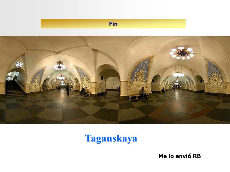 Taganskaya Fin Me lo envió RB