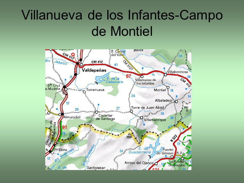 Villanueva de los Infantes-Campo de Montiel