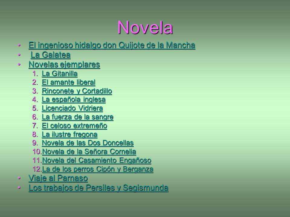 Novela El ingenioso hidalgo don Quijote de la ManchaEl ingenioso hidalgo don Quijote de la ManchaEl ingenioso hidalgo don Quijote de la ManchaEl ingen
