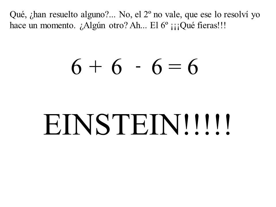 222 = 6 333 = 6 444 = 6 555 = 6 6 6 6 = 6 777 = 6 999 = 6