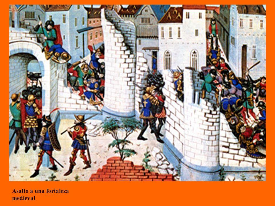 Asalto a una fortaleza medieval