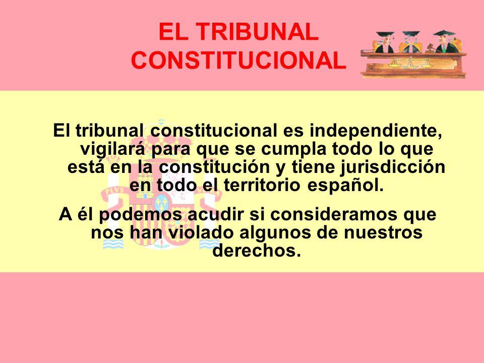 ÓRGANOS DEFENSORES DE LA CONSTITUCIÓN: Todos estos derechos, deberes y libertades deben ser respetados por nuestros gobernantes, por eso hay unos órga