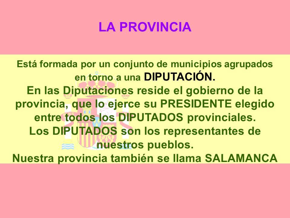 ORGANIZACIÓN DEL TERRITORIO ESPAÑOL España está organizada territorialmente en municipios, provincias y comunidades autónomas. EL MUNICIPIO El término