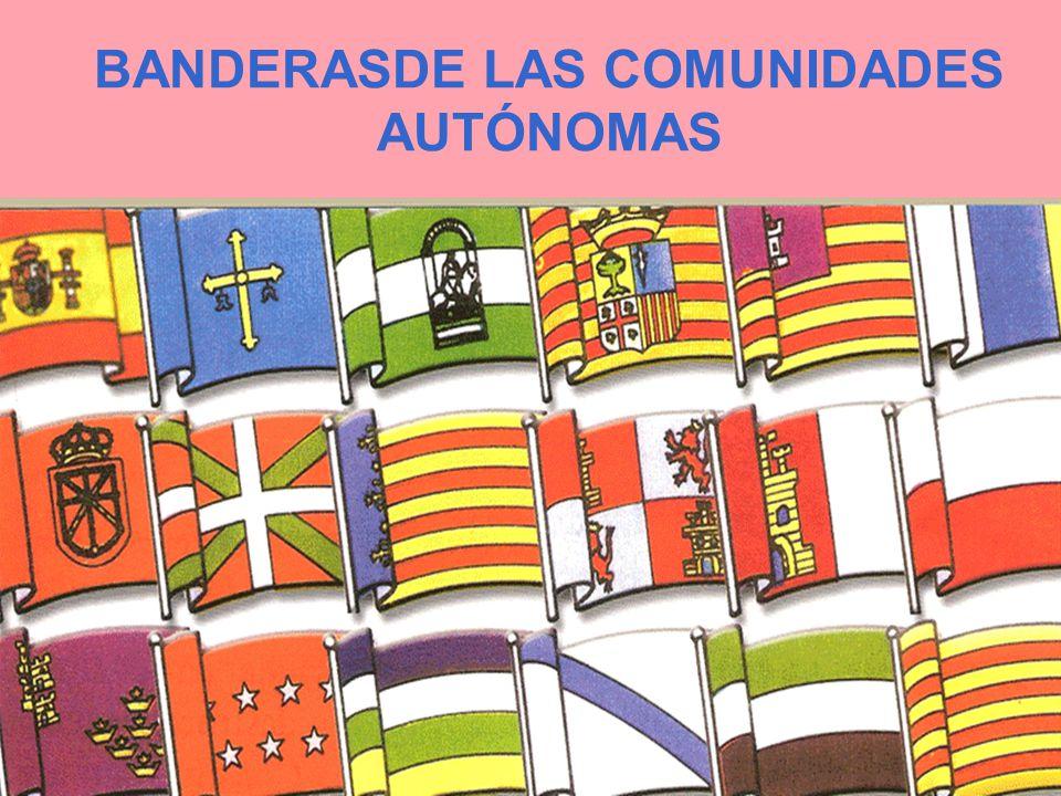 COMUNIDADES AUTÓNOMAS España está organizada territorialmente en 17 Comunidades Autónomas, además de Ceuta y Melilla. El Estado Español debe garantiza