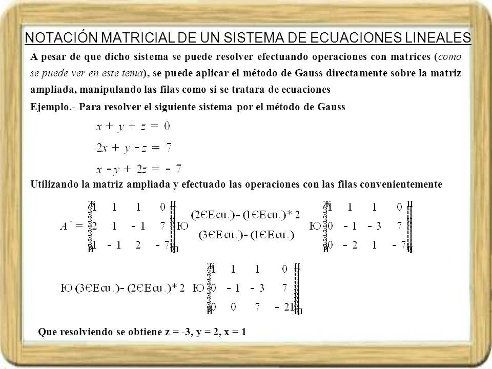 OPERACIONES CON MATRICES El conjunto de matrices de orden mxn, se pueden sumar y multiplicar por un número, y las matrices de dimensión mxn se pueden multiplicar por las de dimensión nxp.