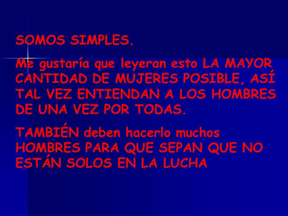 SOMOS SIMPLES.