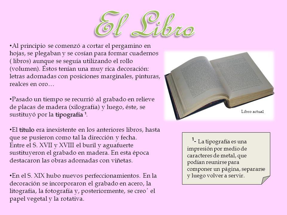 Los libros electrónicos permiten buscar palabras, resaltar partes, hacer comentarios, encontrar significados en el diccionario… El libro electrónico tuvo su origen en 1971.