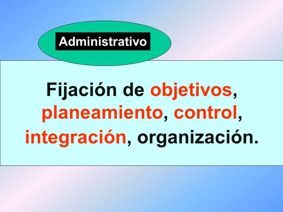 Flujos de tareas y de información, grupos de trabajo, las relaciones jerárquicas, procedimientos, reglas.