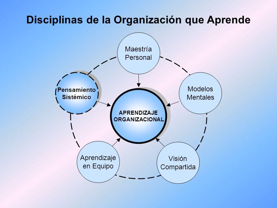 V. Pensamiento sistémico -la Quinta Disciplina- En su nivel más amplio, el pensamiento sistémico abarca una amplia y heterogénea variedad de métodos,