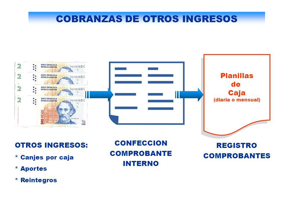 Información brindada por la Consultora Partes de Movimientos contables de la empresa.