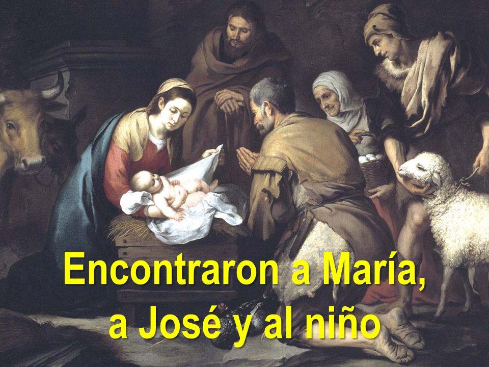 Resultado de imagen de encontraron a maria y a jose y al niño