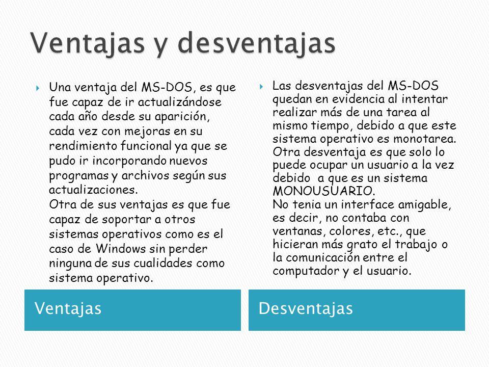 "La presentaci�n ""Microsoft Disk Operating System. Es un sistema ..."