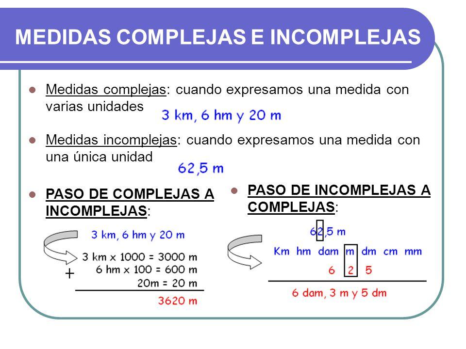 Resultado de imagen de compleja e incompleja