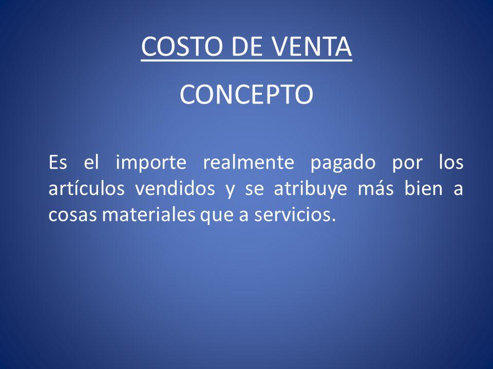 PRINCIPIOS DE CONTABILIDAD 1.DE LA CONSISTENCIA: Indica que el método de costo empleado en un ejercicio debe ser el mismo utilizado en el ejercicio anterior.