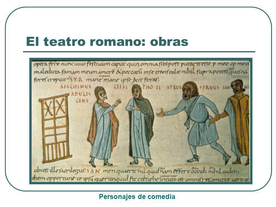 Baños Roma Obra De Teatro:EL TEATRO ROMANO El teatro romano El teatro en Grecia y en Roma era