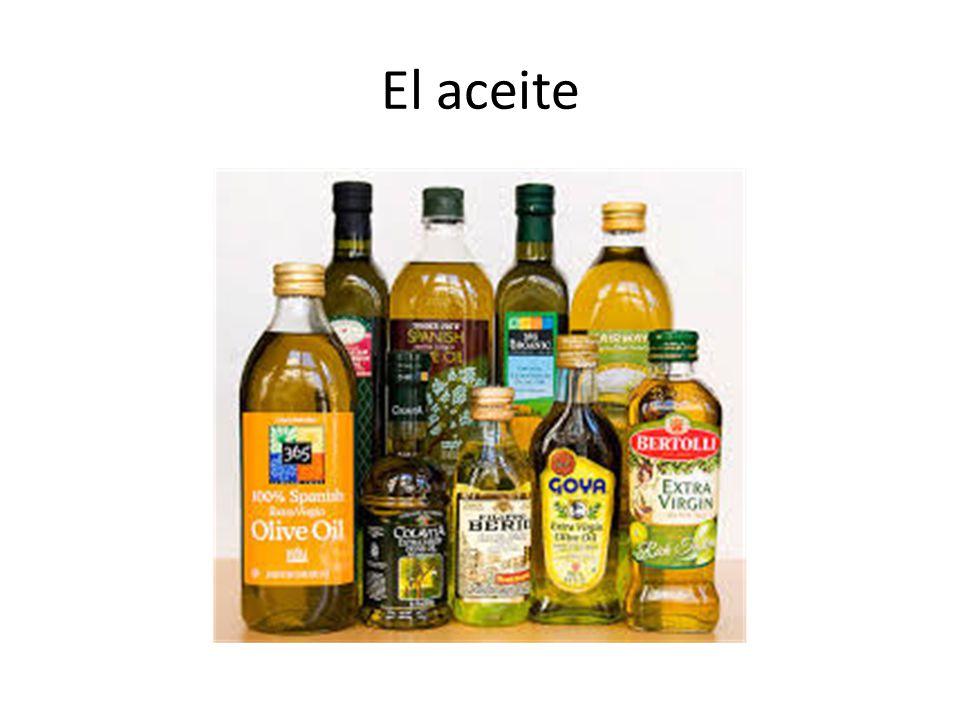 El aceite
