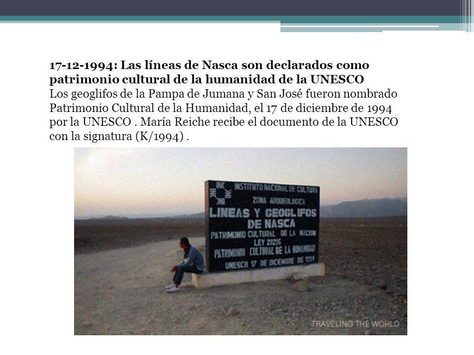 2-7-1992: María Reiche es peruana La Dra.