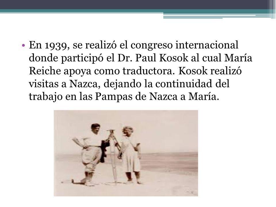 Llegó al Perú en 1932 para trabajar como institutriz de los hijos del consul alemán en el Cusco.