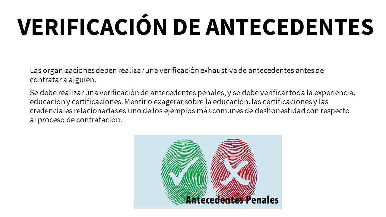 Único Plantilla De Verificación De Antecedentes Foto - Ejemplo De ...