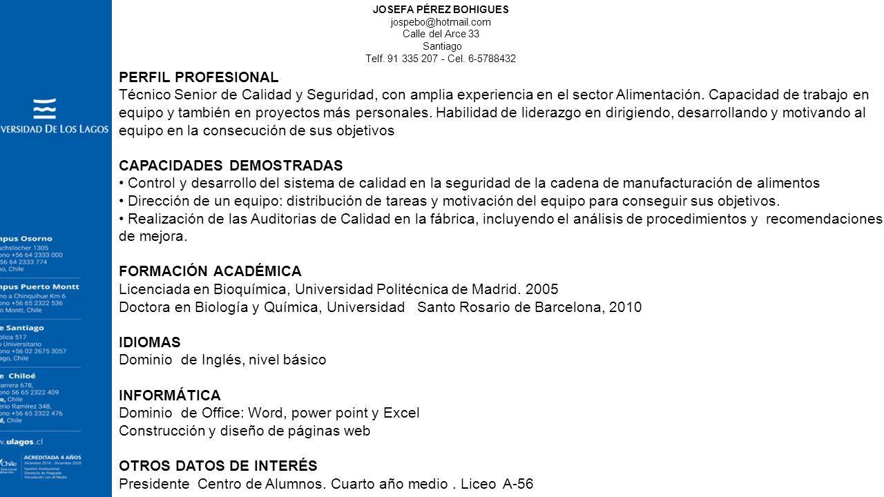 Excelente Supervisor De Limpieza Habilidades De Reanudación Patrón ...