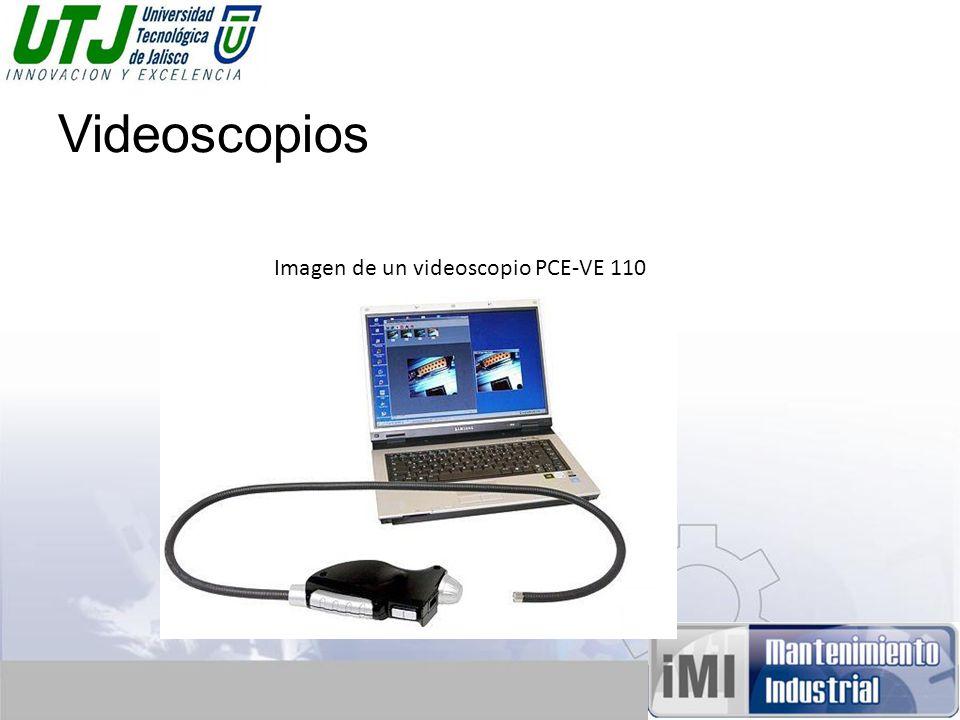 Videoscopios Imagen de un videoscopio PCE-VE 110