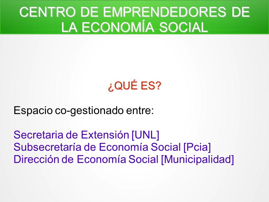 CENTRO DE EMPRENDEDORES DE LA ECONOMÍA SOCIAL - ppt descargar