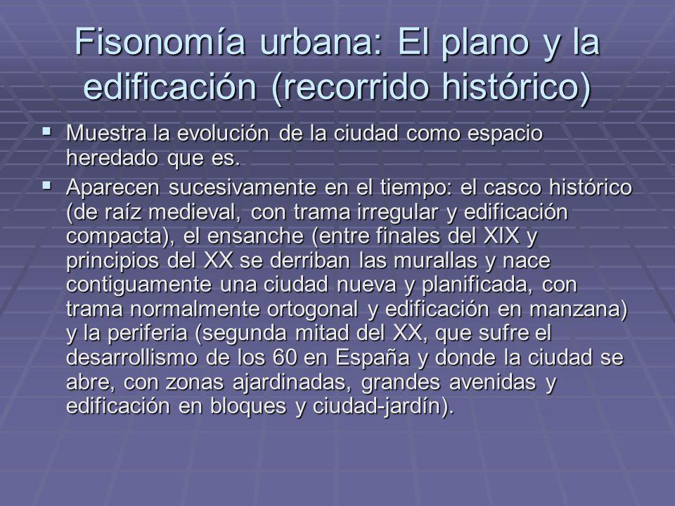 Criterios para definirla  Población (más de 10.000 habitantes, según el criterio español).  Fisonomía (que acusa un intenso aprovechamiento del suel