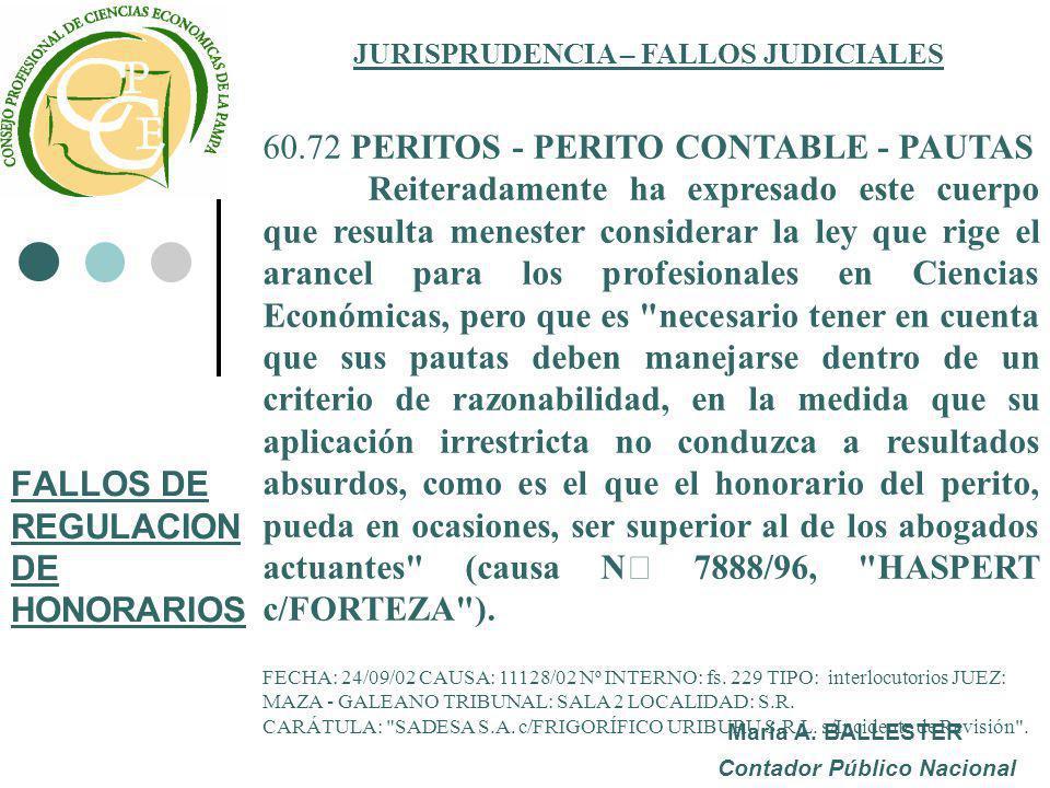 jurisprudencia judiciales: